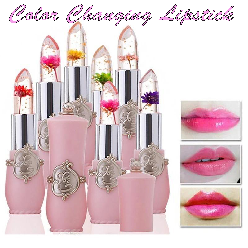Color Changing Flower Lipstick