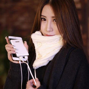 Comfy USB Heated Charging Scarf - Imoost