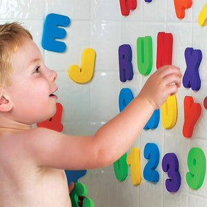 Foam Letters and Numbers Bath Toys - Imoost