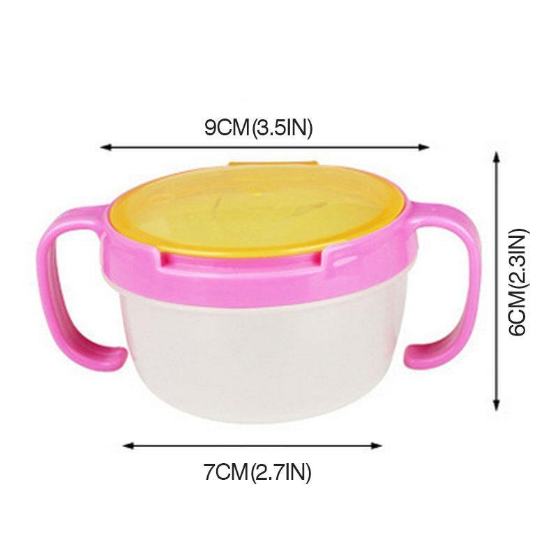 No Spill Baby Snacks Bowl - Imoost