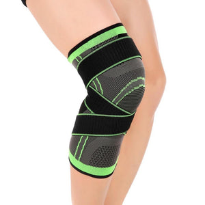 Knee Compression Sleeve Brace with Patella Stabilizer Straps - Imoost