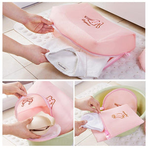New Zippered Mesh Laundry Washing Bag - Imoost