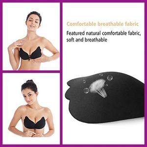 Push Up Drawstring Strapless Bra - Imoost
