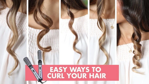 2 in 1 Rotating Curling Iron Brush - Imoost