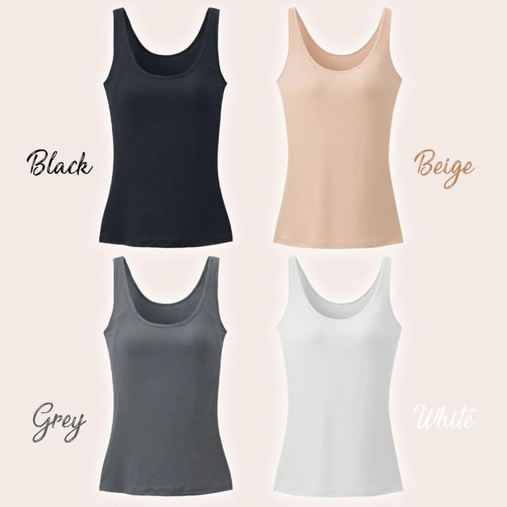 No-Bra Full Support Tank Top - Imoost