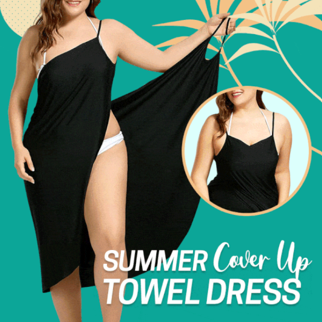Summer Cover Up Towel Dress - Imoost