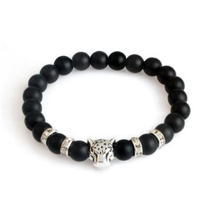 Leopard Natural Lava Stone  Bracelets - Imoost