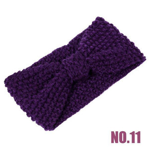 Soft Knitted Crochet Turban Headband - Imoost