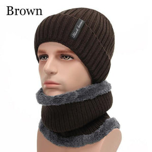 Unisex Winter Beanie Hat Scarf Set - Imoost