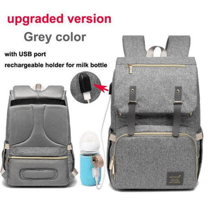 USB Charger Baby Nappy Bag - Imoost