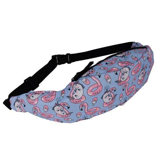 Fashion 3D Unicorn Waist Pack - Imoost