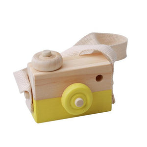Mini Cute Wooden Camera Toy - Imoost