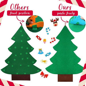 DIY Wall Felt Christmas Decorations