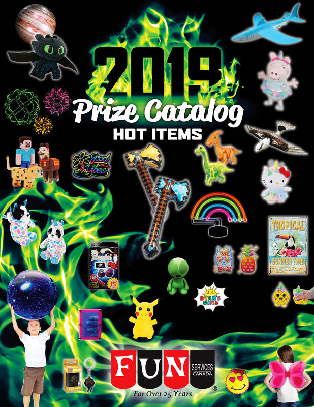 2019 Prize Catalog Cover Page