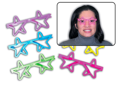 "5"" Super Star Glasses"