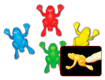 "2.5"" Jumping Neon Frog"