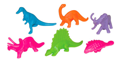 Hot Color Dinosaur (8 Asst.) 2""