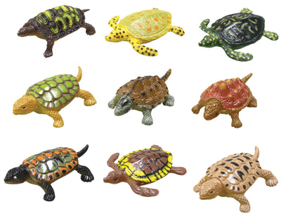 Mini Tropical Sea Turtles 1.5""