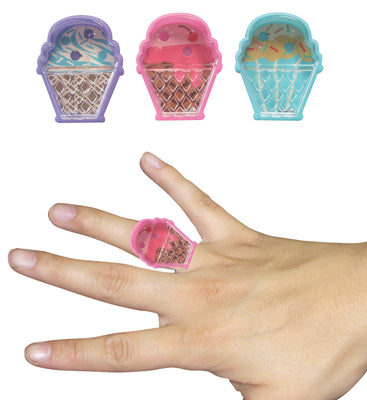 Ice Cream Pill Puzzle Ring 1.5""