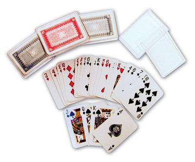 "2.5"" Mini Playing Cards w/Case"