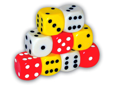 "1.5"" Jumbo Solid Dice *Closeout Special*"
