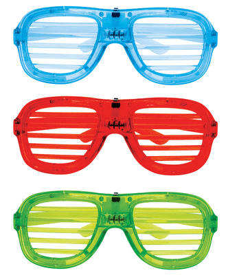 LED Shutter Glasses (3 Asst.) 6""