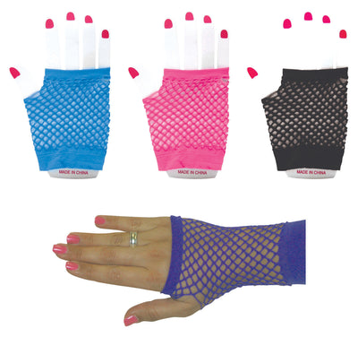 "Fishnet Gloves 4.25"" *Closeout Special*"