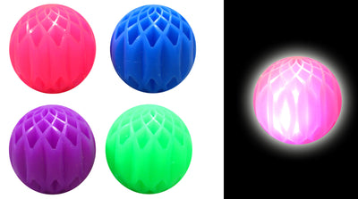 Honeycomb Light Up Ball 2""