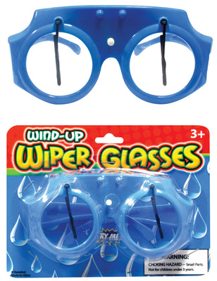 "Wind-up Wiper Glasses 5"" *Closeout Special*"