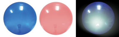 "Transparent Light-up Ball (2 Asst.) 7"" *Closeout Special*"