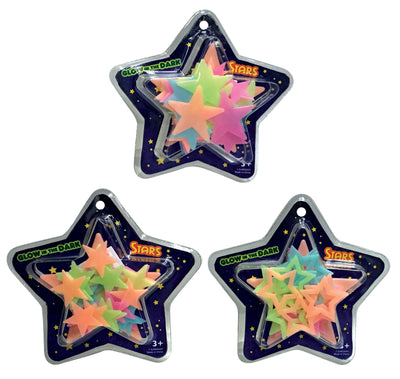 GID Color Star StickUps 30pc 8""