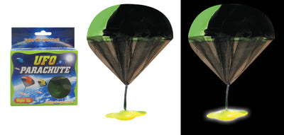 "Light-up UFO Parachute (2 Asst.) 18"" *Closeout Special*"