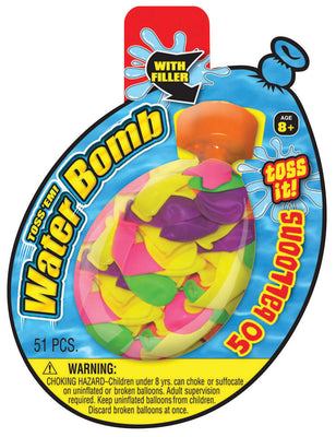 "5 ""Water Balloons 51pc *Closeout Special*"