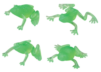 Transparent Frogs 1.75""