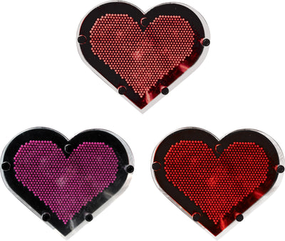 "Heart Shape Color Pin Art 6.5"" *Closeout Special*"