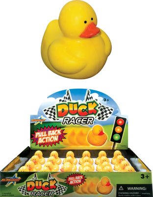 Pull Back Duck Racer 2""