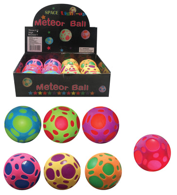 Light-up Space Meteor Ball 2.5""
