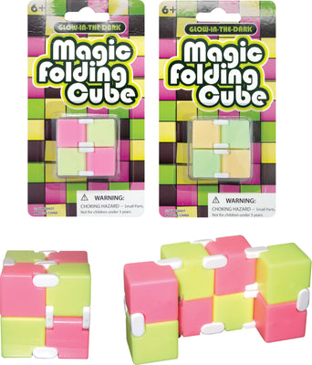 GID Magic Folding Cube 3.25""