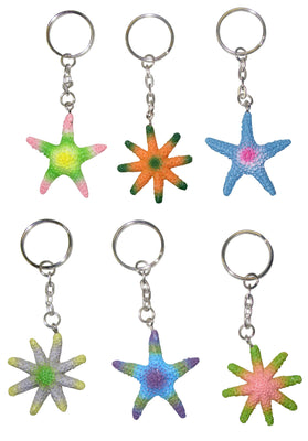 Bright Color Starfish K/C 2""