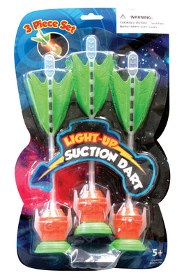 Light-up 3 Piece Dart Thrower 9""