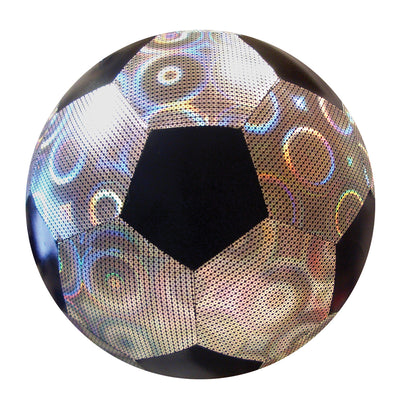 "Mini 6"" Iridescent Fabric Soccer Ball"