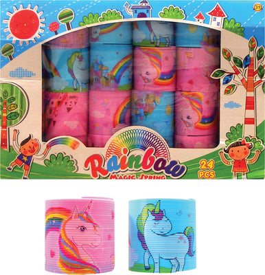 Unicorn Rainbow Magic Spring (2 Asst.)  55MM