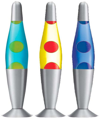 Lava Lamp (Yellow/Blue) 12.5""