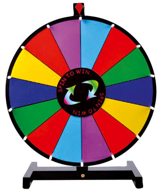 Table Top Prize Wheel 18""
