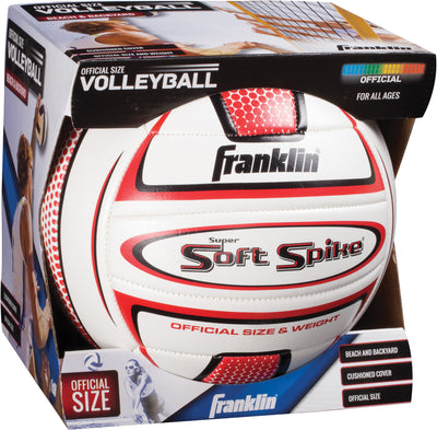 Official Size Super Soft Volleyball 8""