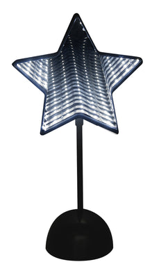 LED Double Sided Infinity Lamp - Star 12""