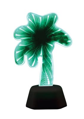 LED Infinity Double Sided Mirror Lamp - Palm Tree 7