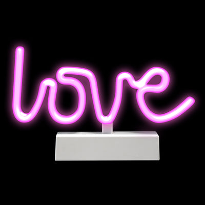 LED Rope Lamp - Love 10""