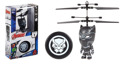 Marvel IR Flying Figure R/C - Black Panther 3.5""