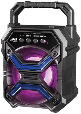 Bluetooth Speaker & Disco Light 3""